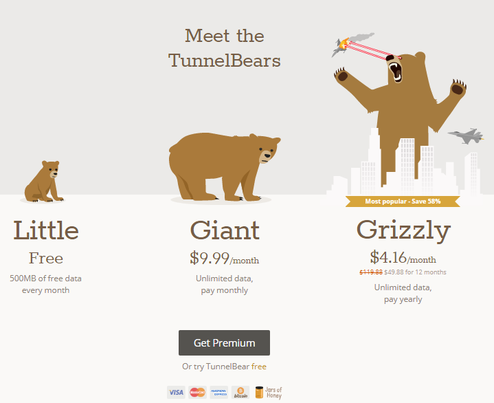 Обзор TunnelBear VPN